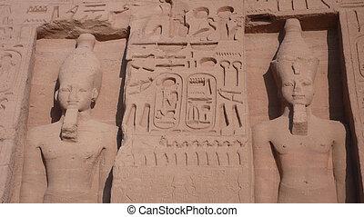 エジプト, abu, simbel.