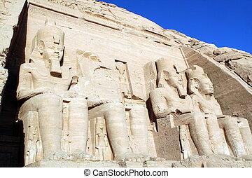 エジプト, abu simbel
