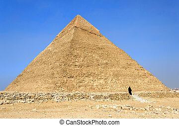 エジプト, (chephren), ピラミッド, khafre