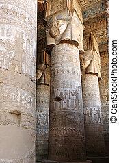 エジプト, dendera, 寺院