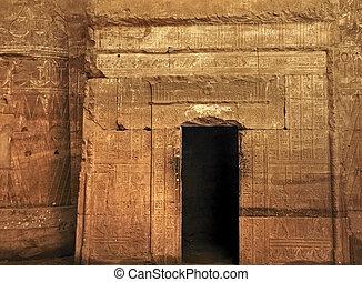 エジプト, edfu, 寺院