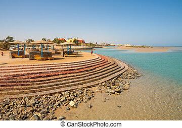 エジプト, el, 浜。, gouna