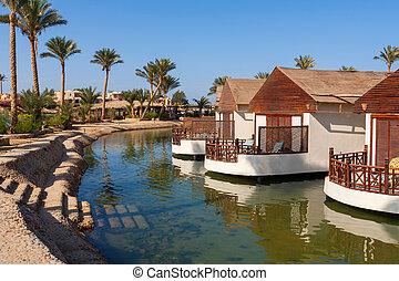 エジプト, el, bungalow., gouna