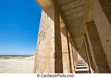 エジプト, hatshepsut, ルクソール寺院