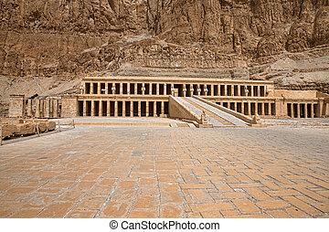 エジプト, hatshepsut, ルクソール