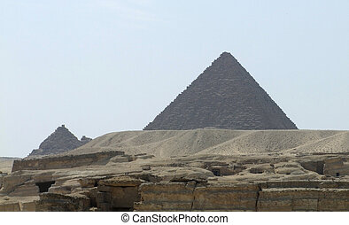 エジプト, menkaure, ピラミッド