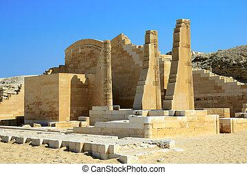 エジプト, saqqara, 台なし, 寺院