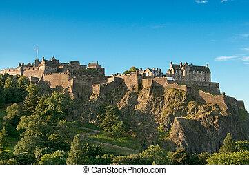 エジンバラの 城, イギリス, スコットランド