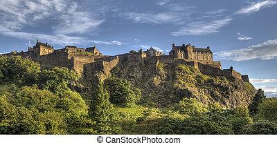 エジンバラの 城