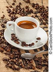 エスプレッソ, コーヒーカップ