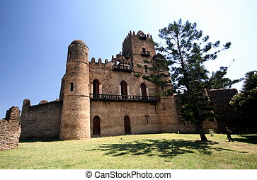 エチオピア, gondar, castel