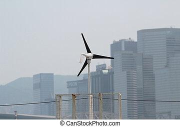 エネルギー源, タービン, 風, future., 回復可能