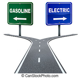 エネルギー, ガソリン, 電気である