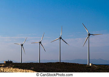 エネルギー, タービン, 風, 回復可能