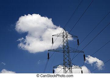エネルギー, 中に, ∥, 空