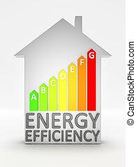 エネルギー, 効率, 家