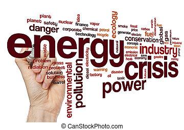 エネルギー, 単語, 危機, 雲