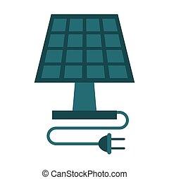 エネルギー, 太陽, 生態学的, きれいにしなさい, パネル