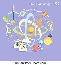エネルギー, 物理学
