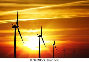 エネルギー, 風