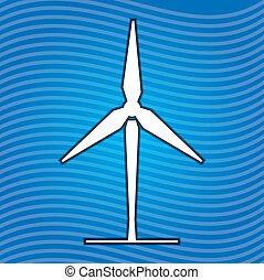 エネルギー, 風, 印