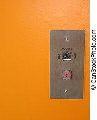 エレベーター, 押しボタン