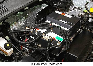 エンジン, 自動車, 電気である