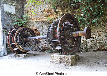 エンジン, 製粉所, 古い