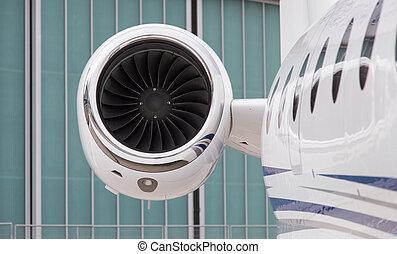 エンジン, 飛行機