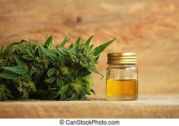 オイル, インド大麻, 麻