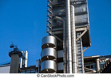 オイル, ガス, エネルギー, 化学物質, rafinery