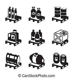 オイル, 化学物質, ガス, プロダクト