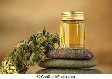 オイル, 医学, oilproduct, インド大麻, cbd, マリファナ