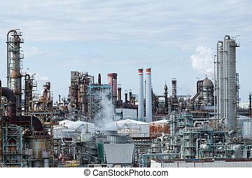 オイル, 植物, ガスの 精製所