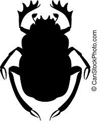 オオタマオシコガネのカブトムシ