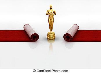 オスカー, 赤いカーペット