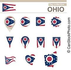オハイオ州の旗, コレクション