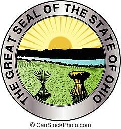 オハイオ州, 州, シール