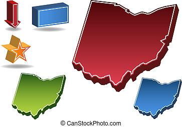 オハイオ州, 州