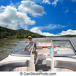オハイオ州, 船遊び, 前方へ, ケンタッキー, 川