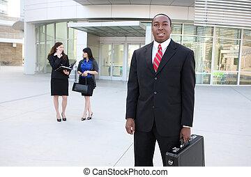 オフィスの チーム, アフリカ, ビジネス
