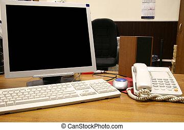 オフィスの 仕事, 場所