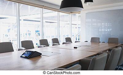 オフィスの 会合, 現代部屋