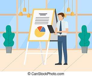 オフィス, セミナー, プレゼンテーション, ビジネス, ワークショップ