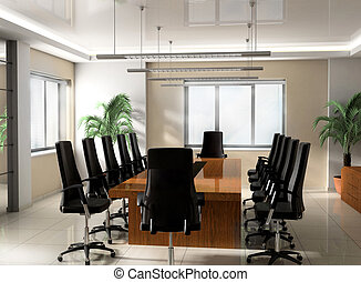 オフィス, 会議室, 現代