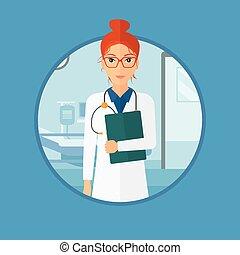 オフィス。, 医学ファイル, 医者
