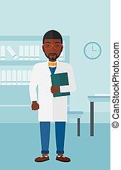オフィス。, 医者