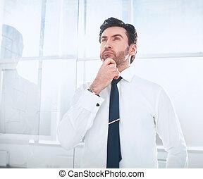 オフィス。, 夢を見ること, ビジネスマンの地位