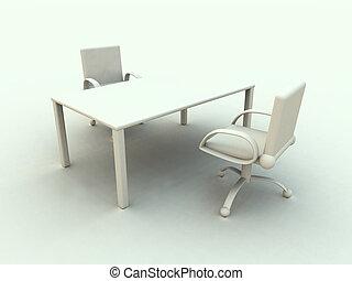 オフィス, 1, 家具