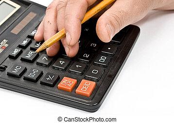 オフィス, calculator.
